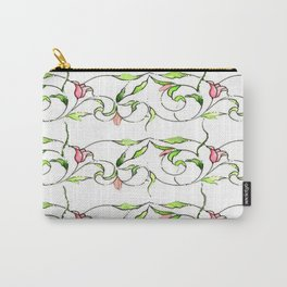 Tulips watercolor (full clear) Carry-All Pouch