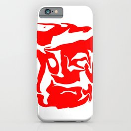 face3 red iPhone Case