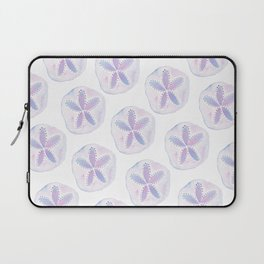 Mermaid Currency - Purple Sand Dollar Laptop Sleeve