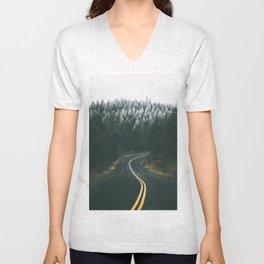 Winter Drive IV Unisex V-Neck