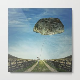 stone kite Metal Print