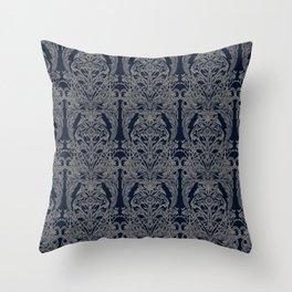 The Grand Salon, Midnight Throw Pillow