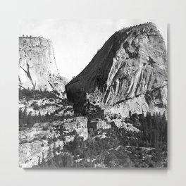 Broderick Liberty Cap Yosemite Metal Print