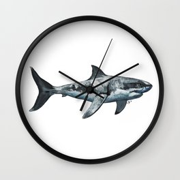 Great White (c) Wall Clock