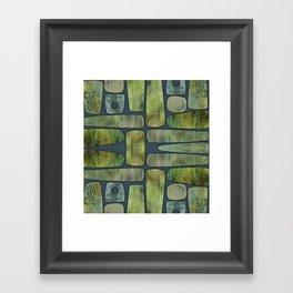 Greenstone Framed Art Print