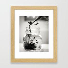 I believe in dreams Framed Art Print
