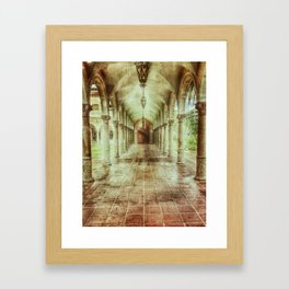 Courtly Framed Art Print