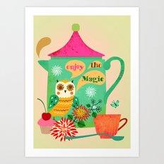 Enjoy the Magic Art Print