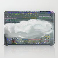 code iPad Cases featuring Raining code by Robert Morris