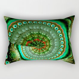 Pretty eyes, swirling pattern abstract Rectangular Pillow
