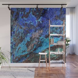 Malachite Mineral Stone rustic decor Wall Mural
