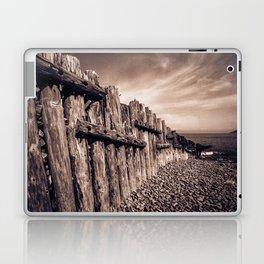 Groynes in Sepia Laptop & iPad Skin