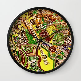 Dance to the Music, Naturally! Wall Clock