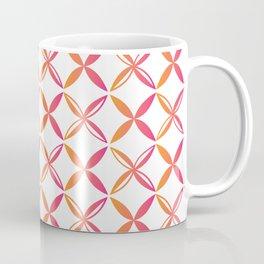Urban Nesian Pink and Orange Siapo Coffee Mug