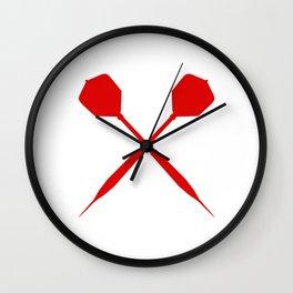 Dart Darts Dartboard Gift Sport Arrows Fun Wall Clock