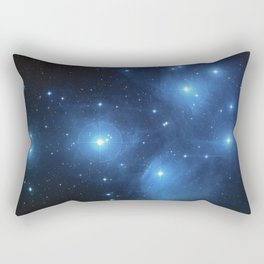 The Pleiades Star Cluster Rectangular Pillow