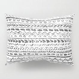 Black and White Tribal Pattern Pillow Sham