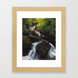 Torc Waterfall Framed Art Print