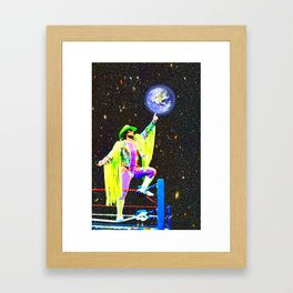 God King Framed Art Print