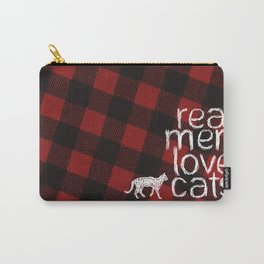 Real Men Love Cats Carry-All Pouch