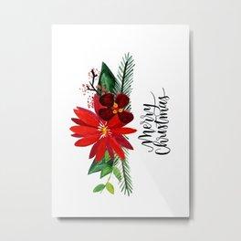 Christmas Card 3 Metal Print