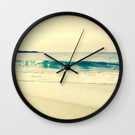 Kapalua Gold Wall Clock