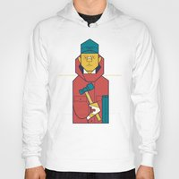 fargo Hoodies featuring Fargo by Ale Giorgini