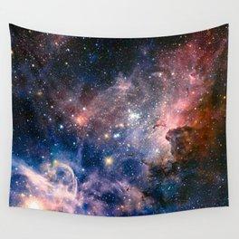 Carina Nebula's Hidden Secrets Wall Tapestry