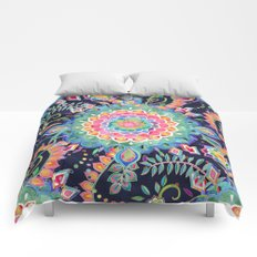 Color Celebration Mandala Comforters