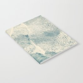 Ice Blue Surf Notebook