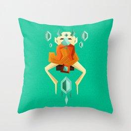 Wise Ent Throw Pillow