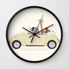road trip huit Wall Clock