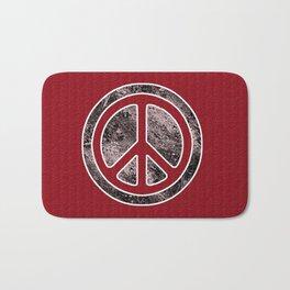 Peace Symbol-Dissd Bath Mat