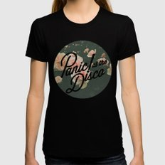 Panic! at the disco  Black SMALL Womens Fitted Tee