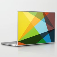 kaleidoscope Laptop & iPad Skins featuring Kaleidoscope by Marina Design