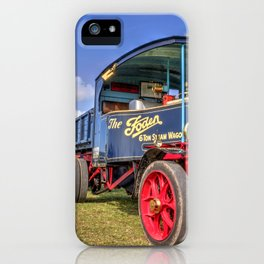 The Foden Steam Wagon iPhone Case