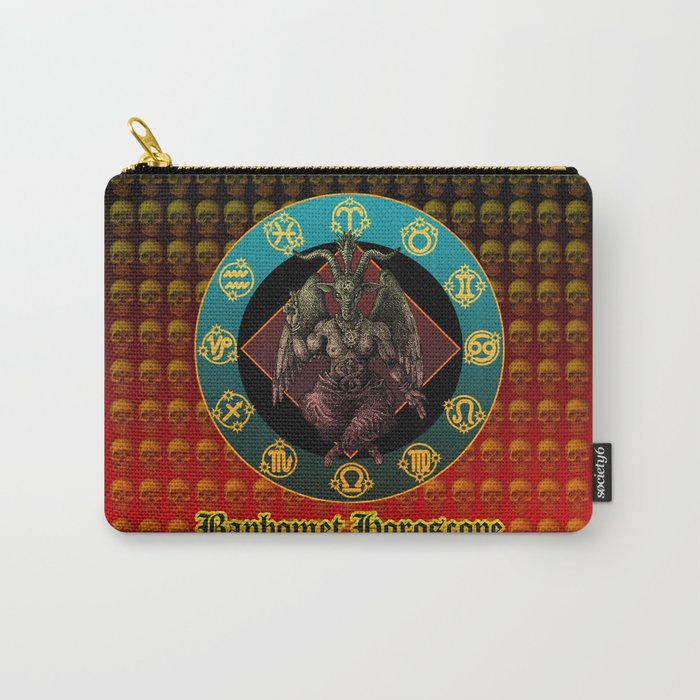 Baphomet and horoscope Carry-All Pouch