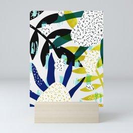 tropical vibes ll Mini Art Print