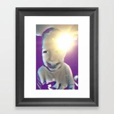 ma boy Framed Art Print