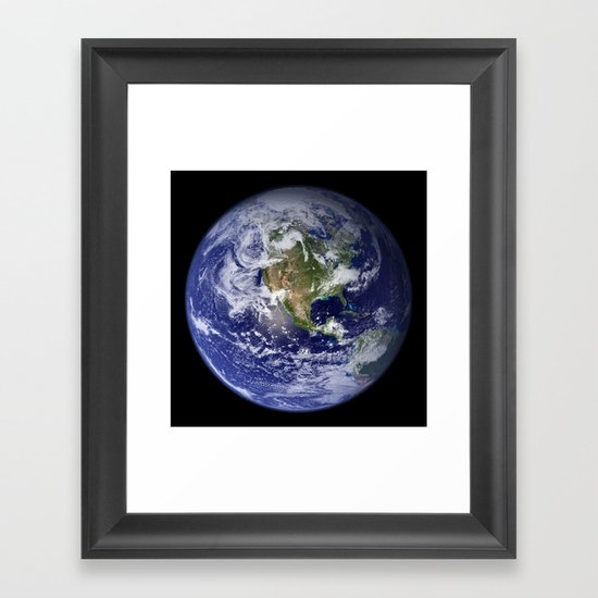 Planet Earth - The Blue Marble From Space by podartist