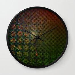 Moiré, No. 15 Wall Clock