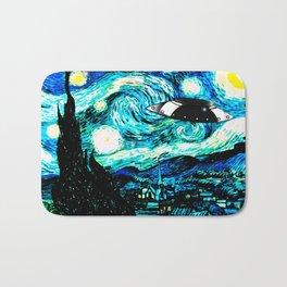 Starry Night UFO Bath Mat