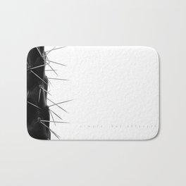 Simple - but effective. Bath Mat