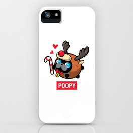 Poopy iPhone Case