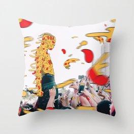 XXXpizza Throw Pillow