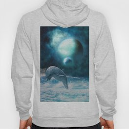 Freedom of dolphins Hoody
