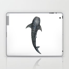 Whale shark for divers, shark lovers and fishermen Laptop & iPad Skin