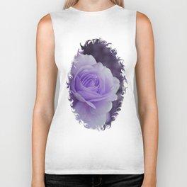 Lavender Rose 2 Biker Tank