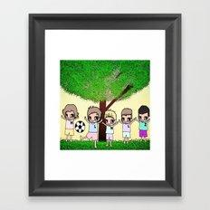 1D-4 Framed Art Print