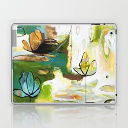 """Rise Above"" Original Painting by Flora Bowley Laptop & iPad Skin"
